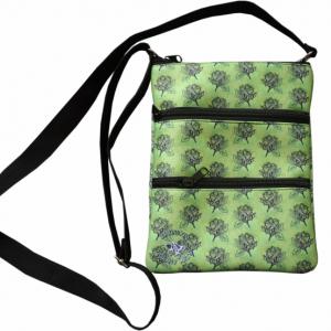 Oorany Arts Flowers 3 Zip Bag